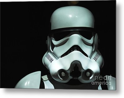 Original Stormtrooper Metal Print by Micah May