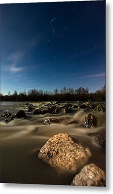 Orion Metal Print by Davorin Mance