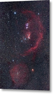 Orion Nebulae Metal Print by Luis Argerich