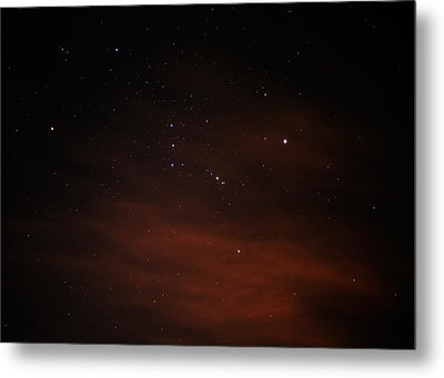 Orion With His Feet In The Clouds Metal Print