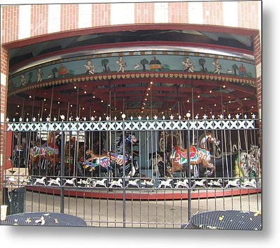 Metal Print featuring the photograph Ornamental Fence by Barbara McDevitt