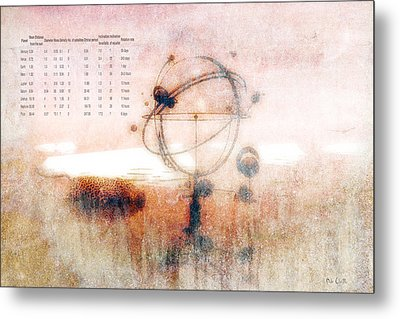 Orrery Metal Print by Bob Orsillo