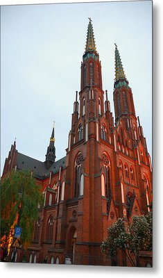 Metal Print featuring the photograph St. Florian's Cathedral by Steven Richman