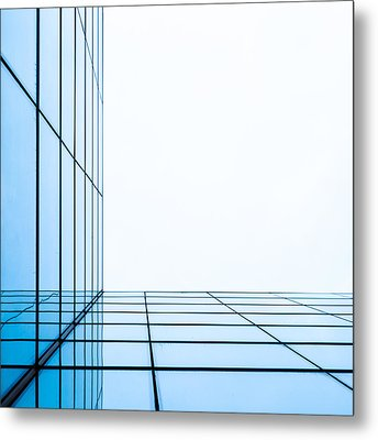 Orthogonal Metal Print by Adam Pender