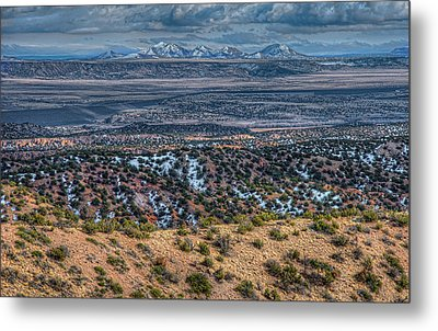 Ortiz Mountains Metal Print by Britt Runyon