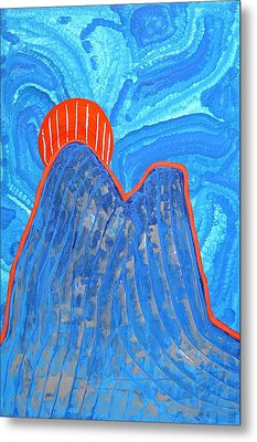 Os Dois Irmaos Original Painting Sold Metal Print by Sol Luckman