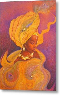 Oshun Goddess Metal Print