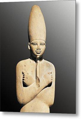 Osiriphorm Statue Of Mentuhotep IIi Metal Print