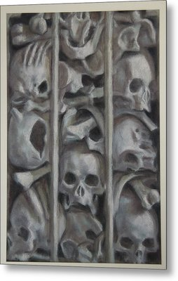 Ossuary Metal Print by Paez  Antonio