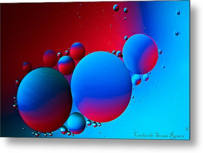 Other Small Worlds Metal Print by Carlos Ramos