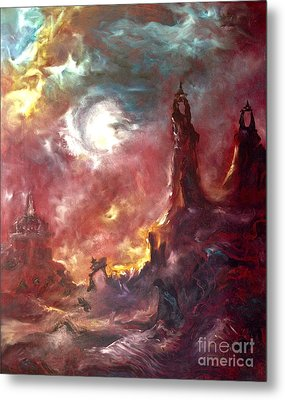 Otherworldly Metal Print by Michelle Dommer