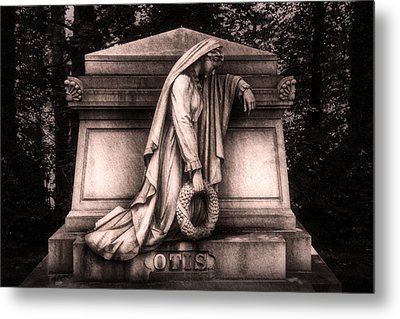 Otis Monument Metal Print by Tom Mc Nemar