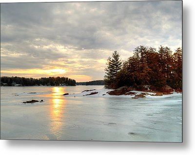 Otis Reservoir Sunrise No. 2 Metal Print