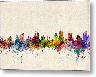 Ottawa Skyline Metal Print by Michael Tompsett