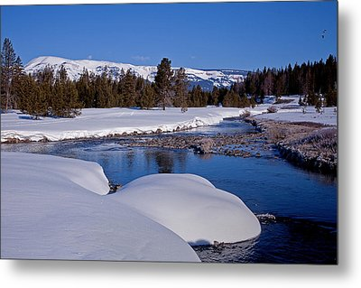 Metal Print featuring the photograph Otter Creek by Jack Bell