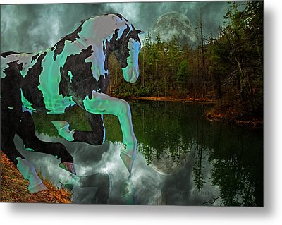 Otter Lake Phantom Metal Print