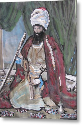 Metal Print featuring the painting Ottoman Empire by Vikram Singh