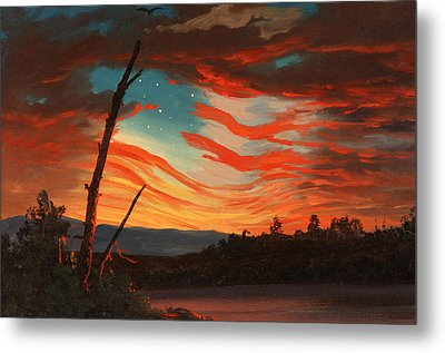 Our Banner In The Sky Metal Print