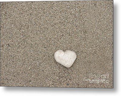 Our Beach Memories Metal Print by Artist and Photographer Laura Wrede
