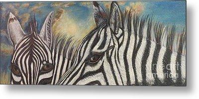 Our Eyes Are The Windows To Our Souls Metal Print by Kimberlee Baxter