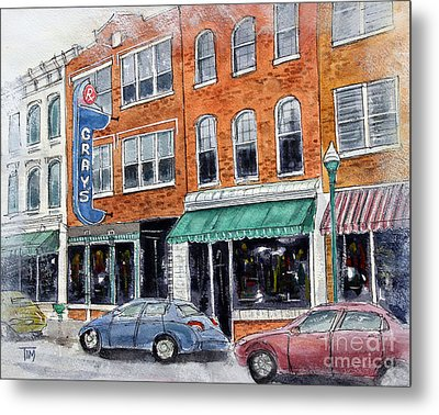 Our Franklin Metal Print by Tim Ross