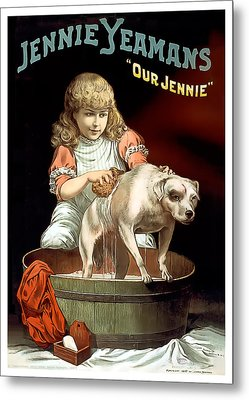 Our Jennie Metal Print by Terry Reynoldson