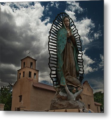 Our Lady Of Guadalupe Metal Print by Julie VanDore