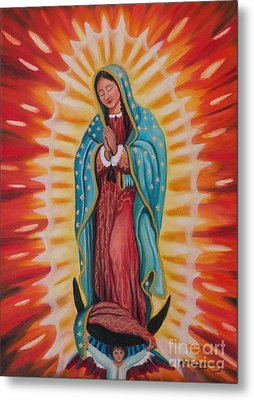 Our Lady Of Guadalupe Metal Print by Lora Duguay