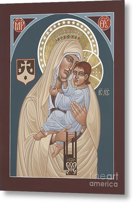 Metal Print featuring the painting Our Lady Of Mt. Carmel 255 by William Hart McNichols
