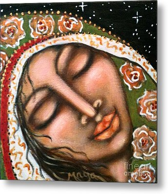 Our Lady Of Peace Metal Print by Maya Telford