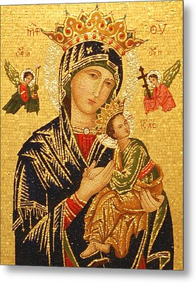 Our Lady Of Perpetual Help  Metal Print