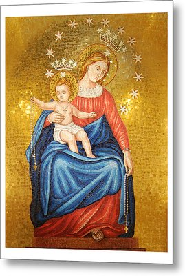 Our Lady Of Pompeii Metal Print by Philip Ralley