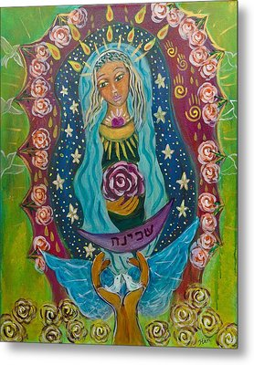 Our Lady Of Rebirth And Renewal Metal Print by Havi Mandell