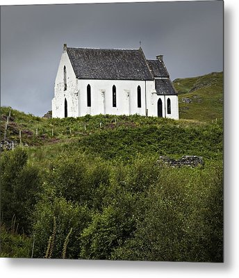 Our Lady Of The Braes Metal Print