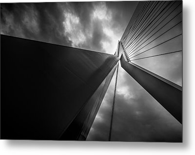 Metal Print featuring the photograph Out Of Chaos A New Order by Mihai Andritoiu