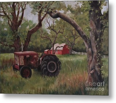 Out Of Commission Metal Print by Karen Olson