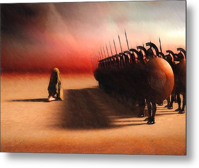 Out Of Egypt Metal Print by Bob Orsillo
