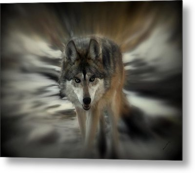 Out Of Nowhere 2 Metal Print by Ernie Echols