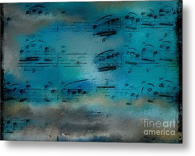 Metal Print featuring the digital art Out Of The Blue by Lon Chaffin