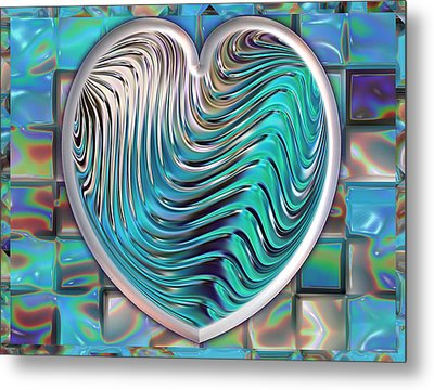 Out Of The Blue Metal Print by Wendy J St Christopher