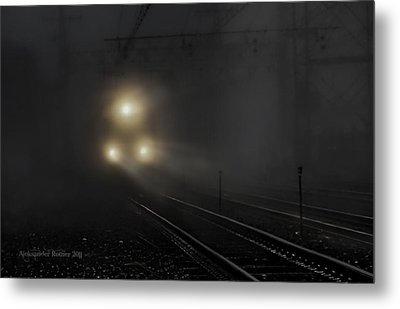 Out Of The Night #1 Metal Print by Aleksander Rotner