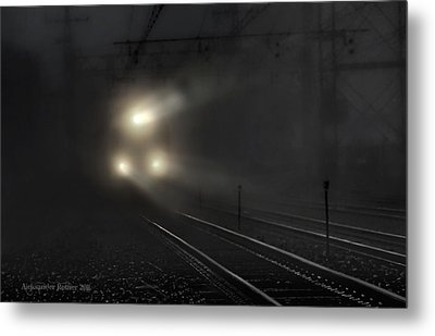 Out Of The Night #2 Metal Print by Aleksander Rotner