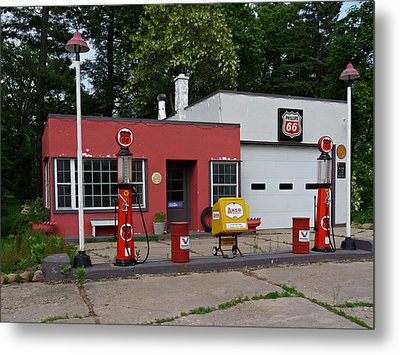 Metal Print featuring the photograph Out Of The Past by Judy  Johnson