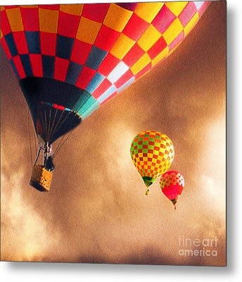 Out Of The Storm Metal Print by Artist and Photographer Laura Wrede