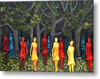Out Of The Woods Metal Print by Linda Carmel