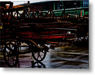 Out Of Work Metal Print by Michael  Bjerg