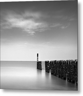 Out To Sea Metal Print by Dave Bowman