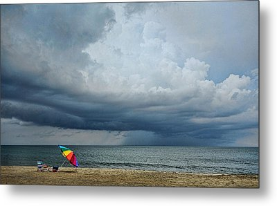 Out To Sea - Outer Banks Metal Print