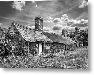 Outbuildings. Metal Print by Gary Gillette