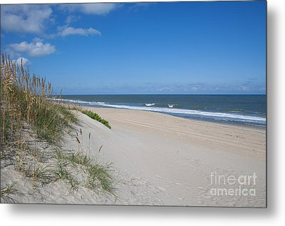 Outer Banks Beach  Metal Print by Kay Pickens